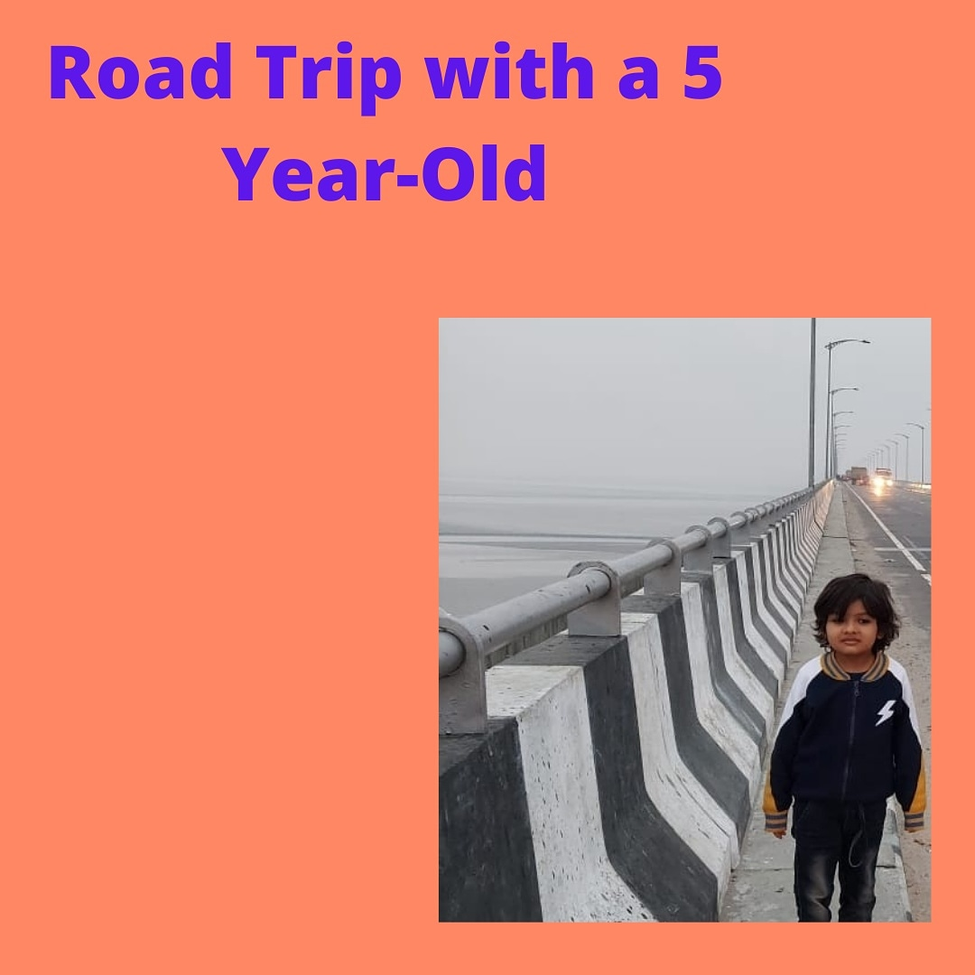 Road trip with a % year Old